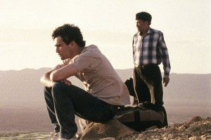 father_and_son_in_desert