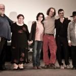 De crew van de film: Tadeusz Cycon, Silvana Cipolletti, Fulvia Chiulli, Kris Kaerts en Vincenzo Petrelli. © Raf Degeest