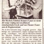 De Streekkrant, 22/5/1992
