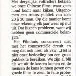 Het Nieuwsblad, 9/1/1999