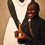 David Katshiunga, winnaar van de Artist Award van het Afrika Filmfestival 2015 - foto © Jolien Doms