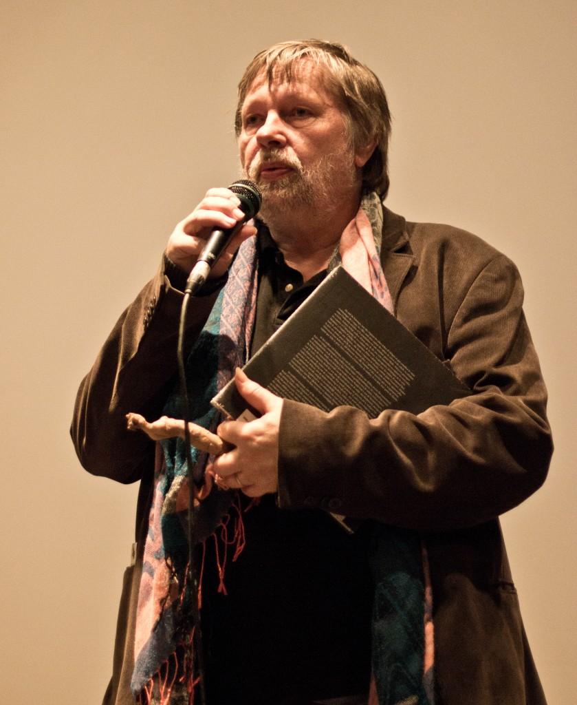 Guido Convents, voorzitter van het Afrika Filmfestival - foto ©  Raf Degeest