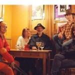 Edwin tijdens ons zigeuner-slotfeest n.a.v. 'Transylvania' in 2007