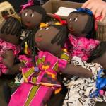 Op het Afrikaans indoormarktje. Foto © Arno Van Crombruggen