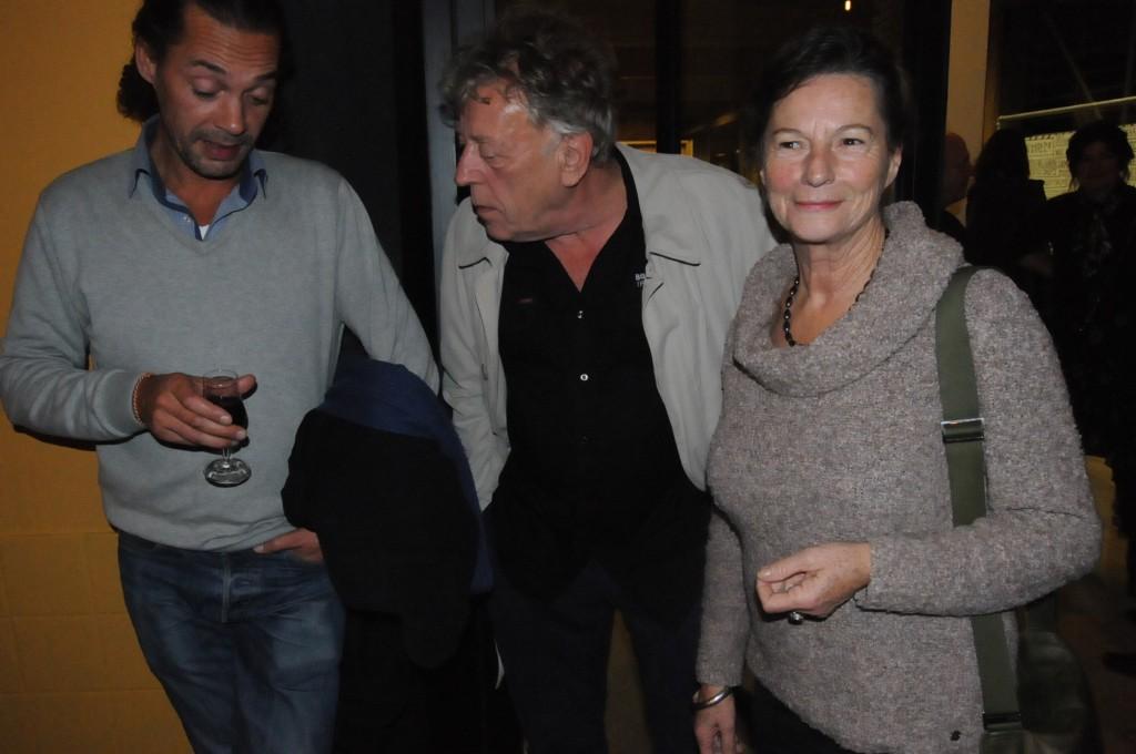Mechels jazzmuzikant André Goudbeek (midden)