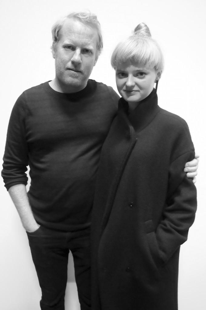 Brian Pyle van Ensemble Economique met echtgenote.  (c) Paul de Brant