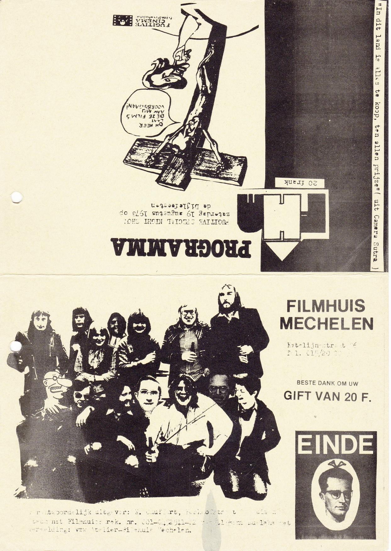 1978:08FilmprogrDijlefeesten